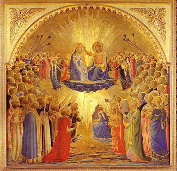 Coronation Virgin, Fra Angelico