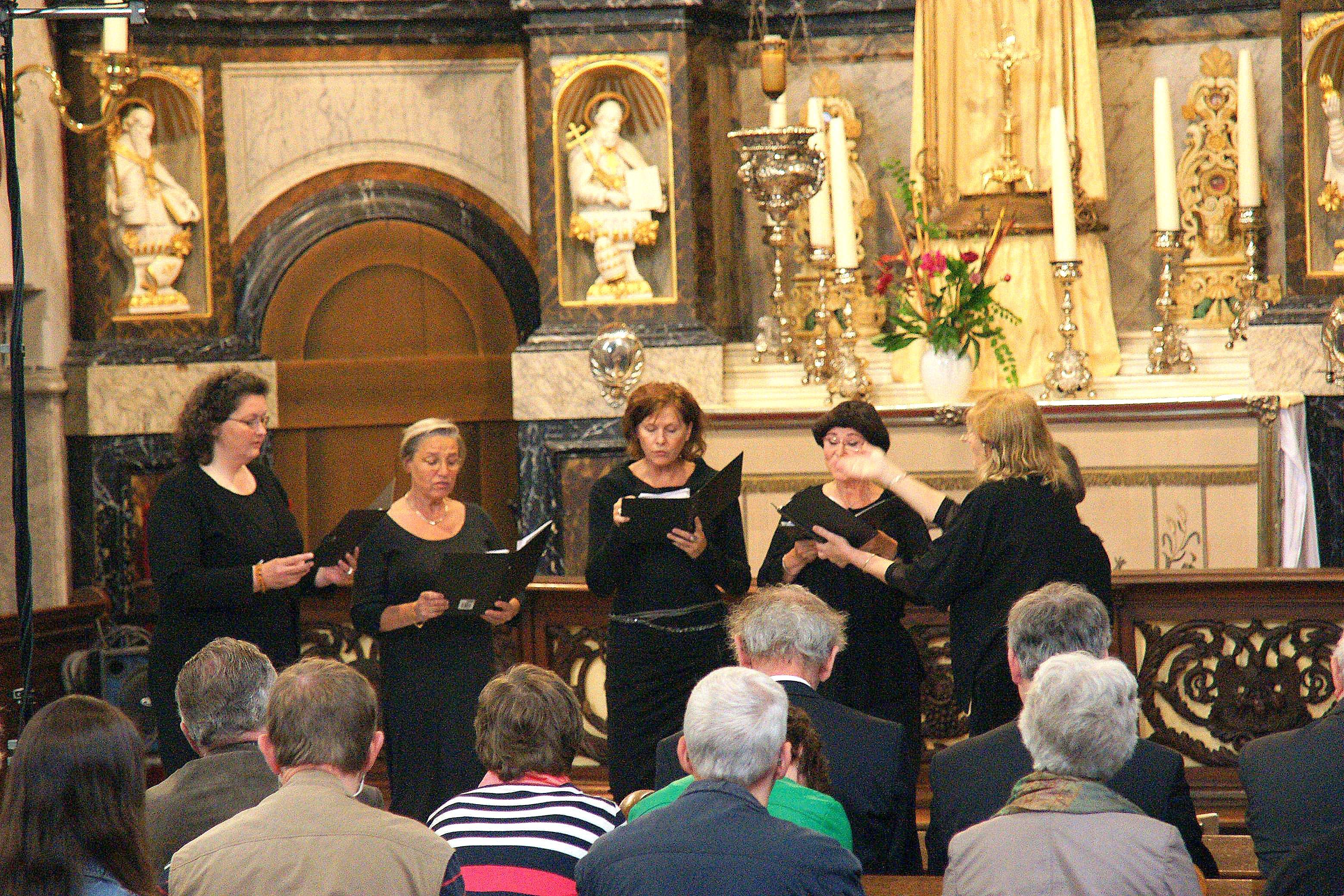 Schola Catharina Amsterdam, Gregoriaans Festival Ravenstein 2012