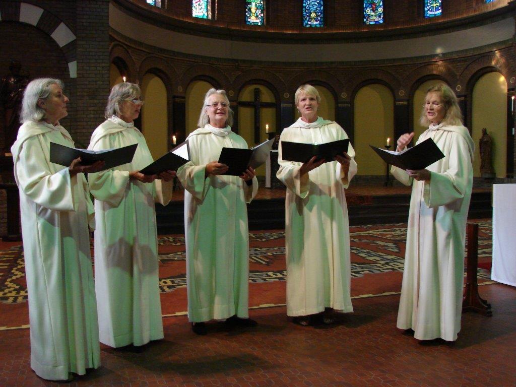 Schola Catharina Arnhem zingt in Wageningen op 26 juli 2014